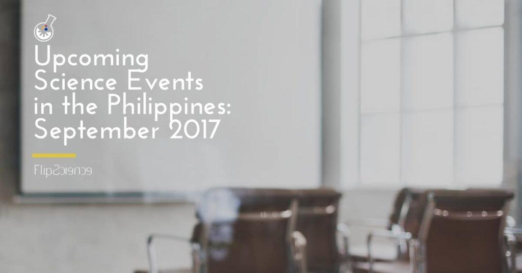 september 2017 science events philippines