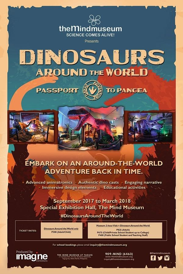 dinosaurs around the world mind museum