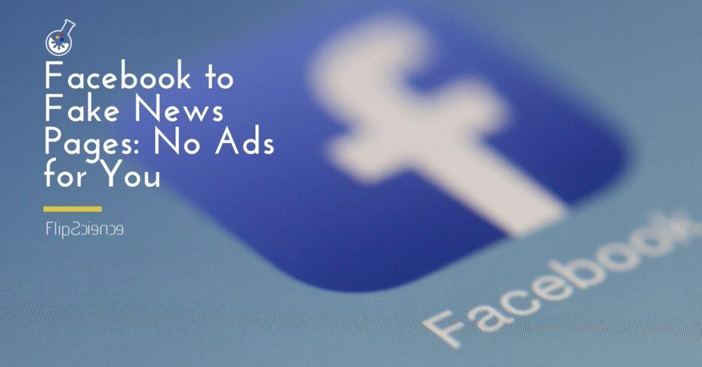 facebook ad fake news