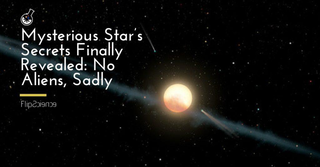 KIC 8462852, Tabby's Star, Boyajian's Star