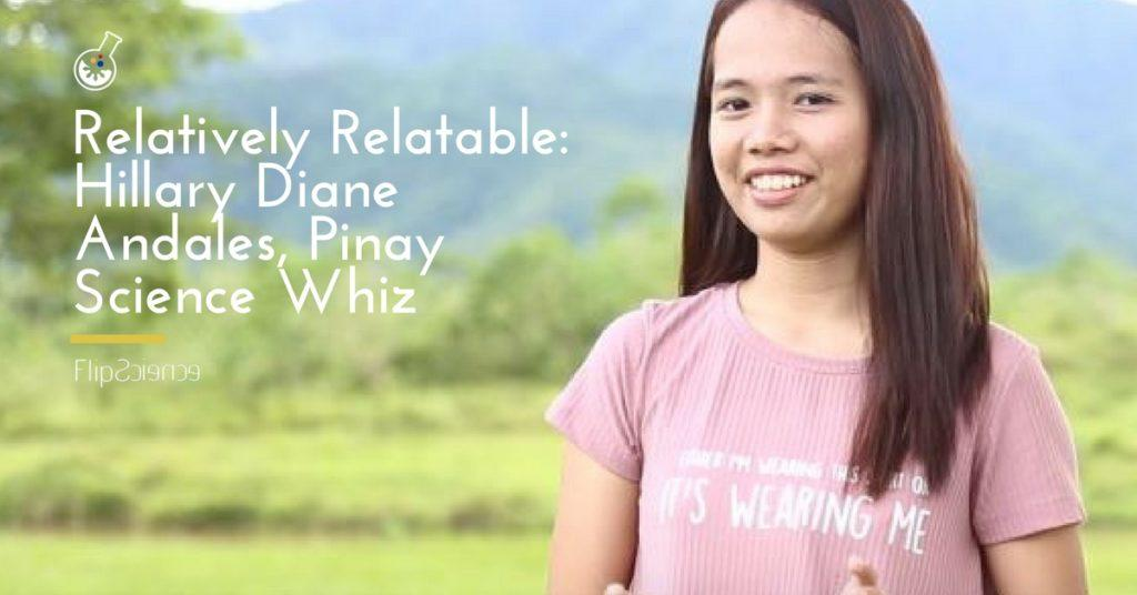 Hillary Diane Andales, relativity