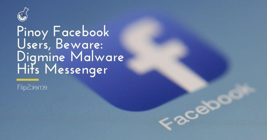 digmine, malware, facebook, messenger