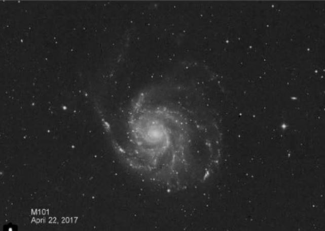 Messier 101, pinwheel galaxy