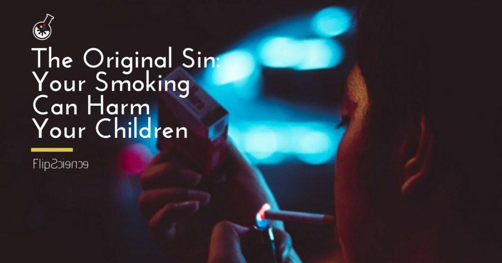can second hand smoke harm children