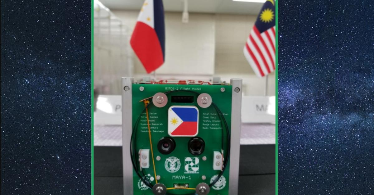 maya-1, cube satellite, cubesat, bird