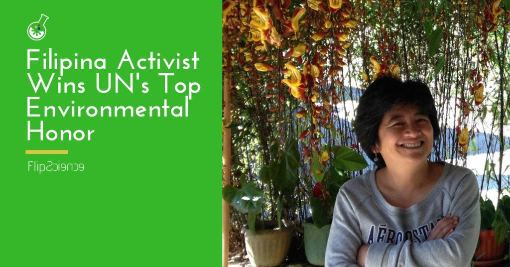 joan carling, filipina, united nations, un, champions of the earth