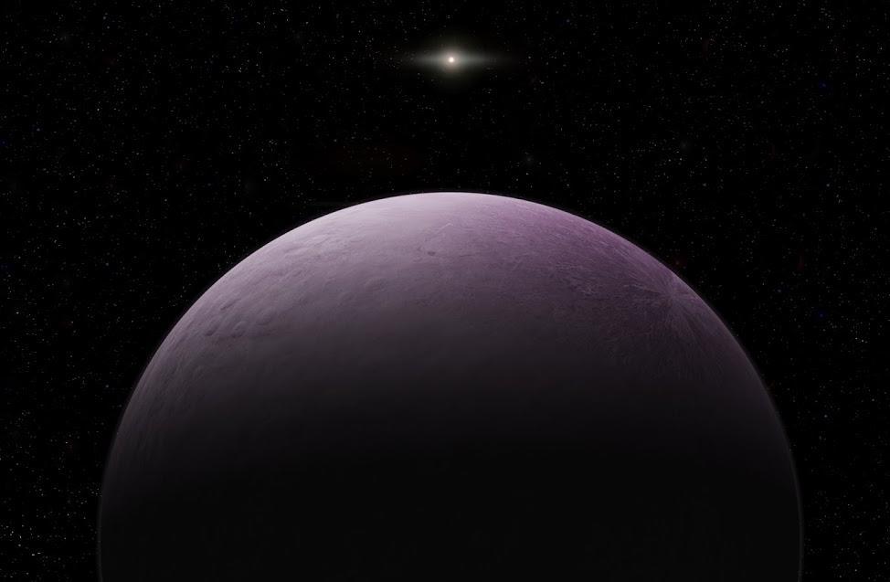 2018 VG18, farout, solar system, earth, sun
