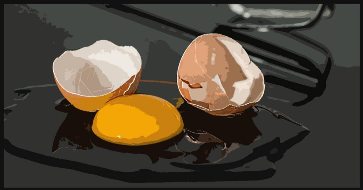 egg, jama
