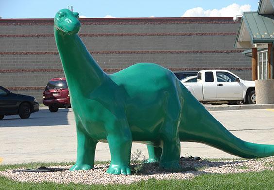 Sinclair, oil, dinosaurs