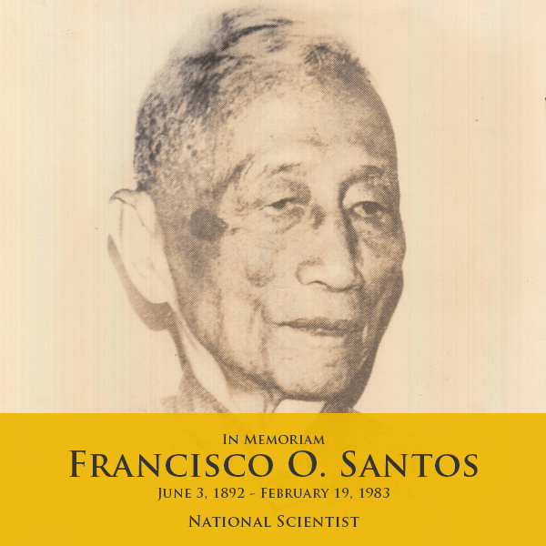 national scientist, francisco o. santos