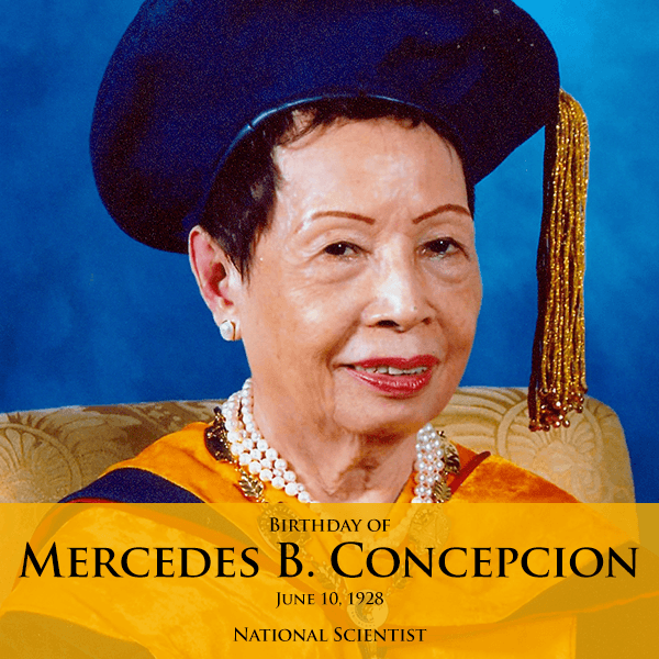 national scientist, mercedes b. concepcion