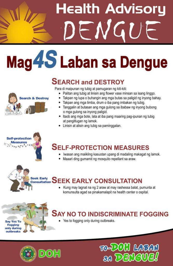 dengue, 4s