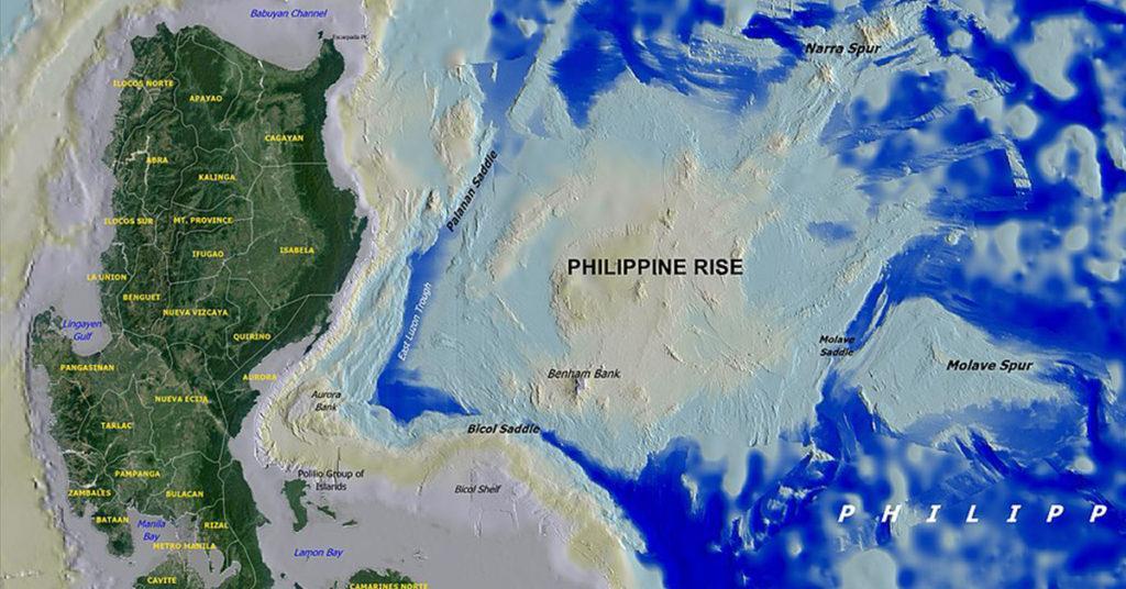 philippine rise, benham rise
