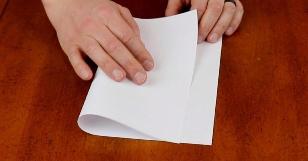 flipfact, flipfacts, flipscience, fold paper, paper
