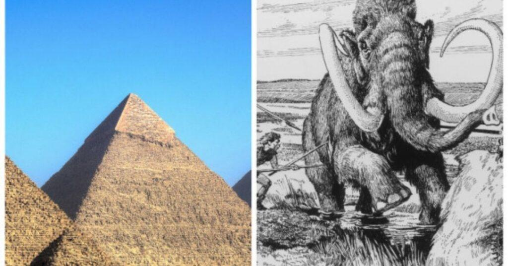 flipfact, flipfacts, flipscience, woolly mammoths, pyramids, giza