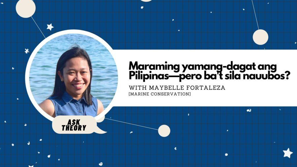 ask theory, marine conservation, maybelle fortaleza